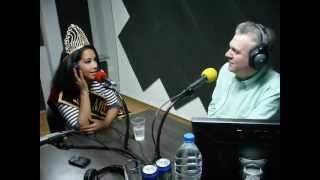 MISS EUROLATINA 2012 - SARAH VIVIANA CHOISEZ - DJ CHRISTIAN // GOLD FM